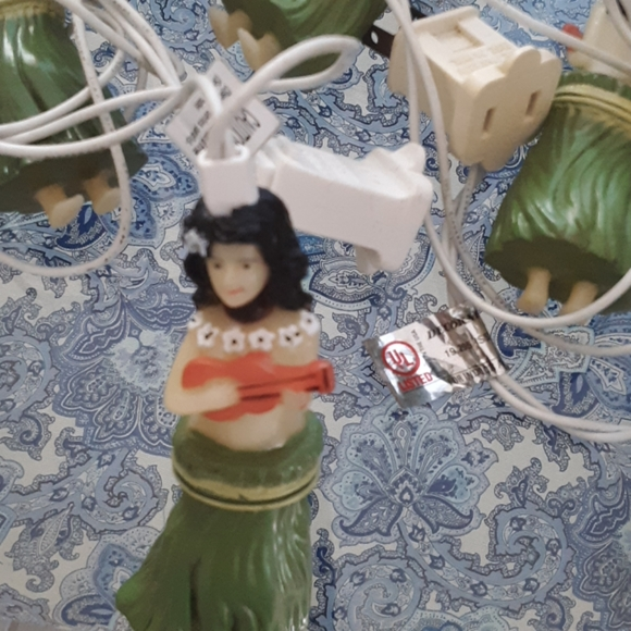Other - VINTAGE HULA GIRL XMAS LIGHTS